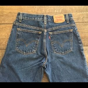 Levis 550 Mom Jeans, Size 8